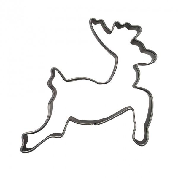 Springender Hirsch