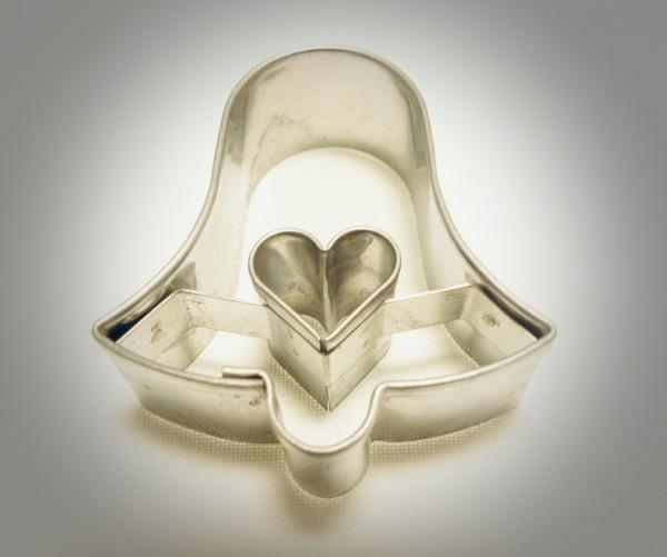 Glocke mit Herz