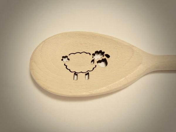 Kochlöffel Schaf