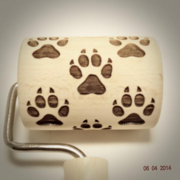 Nudelholz Hundepfote