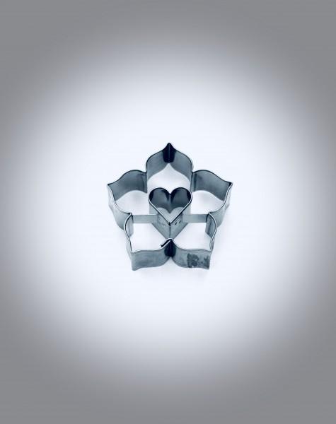 Lilie mit Herz