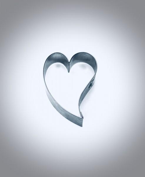 Herz - schräg
