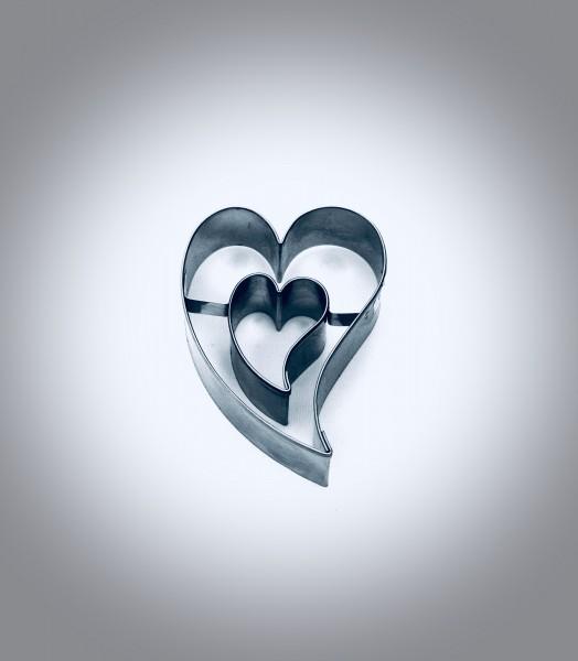 Herz - schräg / Herz - schräg