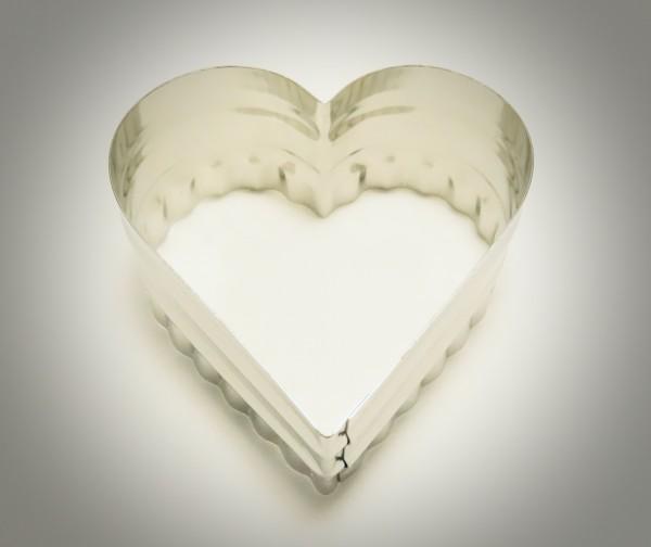 Herz glatt/gewellt
