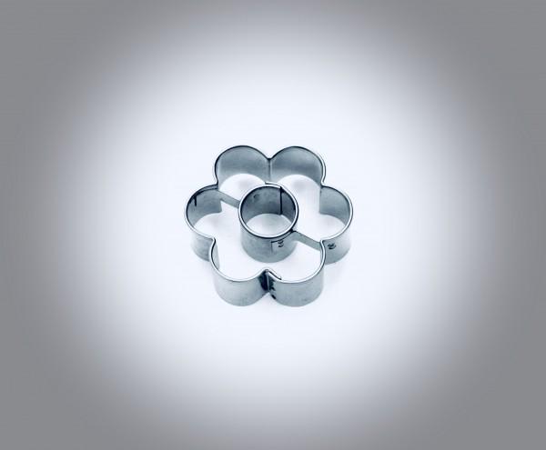 Blume 6er mit Ring
